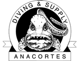 logo, anacortes diving